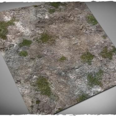 Terrain Mat Cloth - Medieval Ruins - 90x90