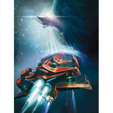 Fragged Empire - Illustration 60x40 : Space Craft 3