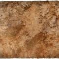 Terrain Mat PVC - Badlands - 90x90 2