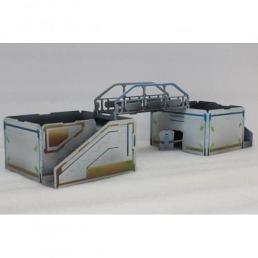 Pack 2 Q-Building L and Bridge