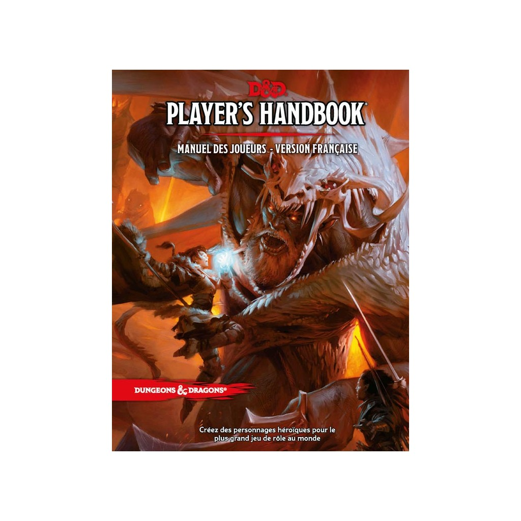 Wizards Of The Coast DONJONS /& DRAGONS RPG Core livres de règles Ensemble Cadeau anglais