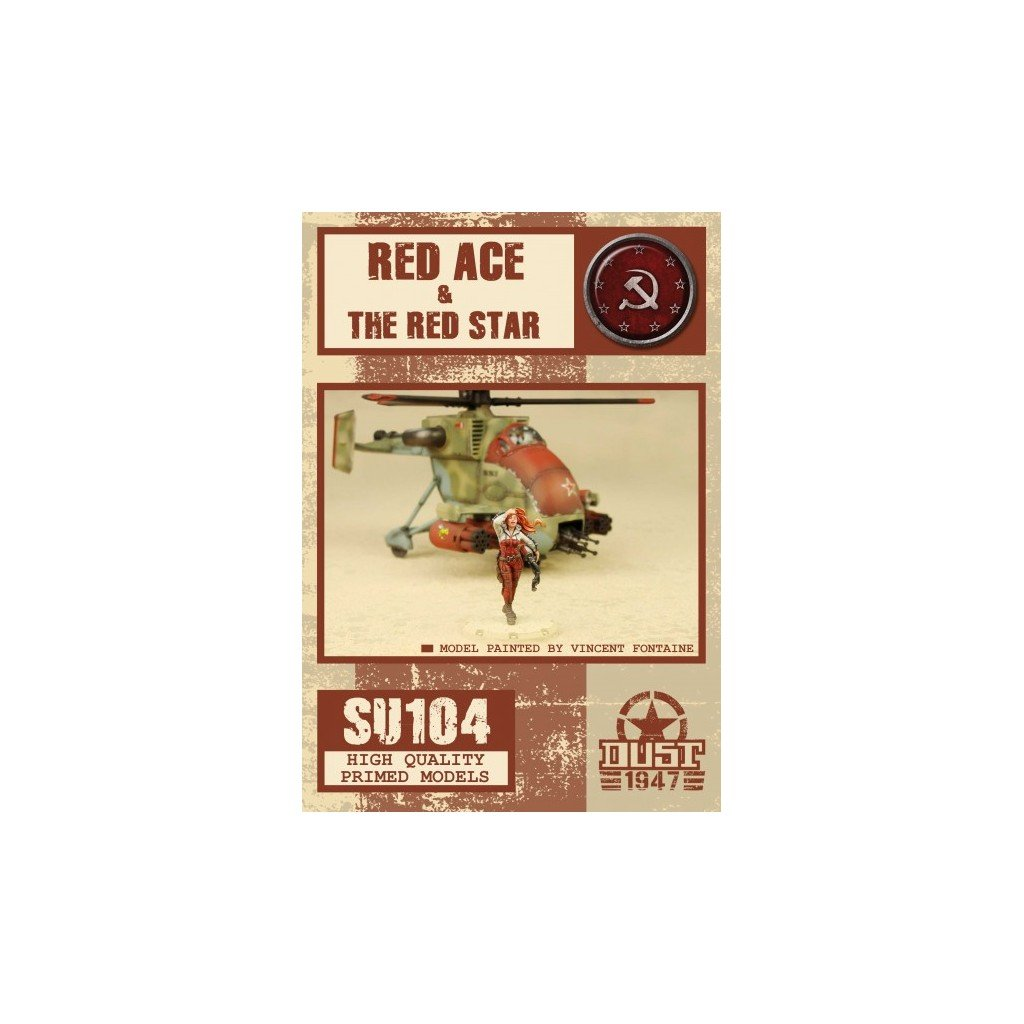 Dust Tactics Red Ace Amp The Red Star Boutique Philibert En