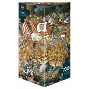 Puzzle - Trafalgar de Michael Ryba - 2000 Pièces