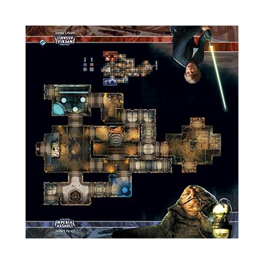 Star Wars Imperial Assault : Skirmish Maps - Jabba's Palace