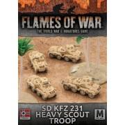 Sd Kfz 221/222 Light Scout Troop (copie)