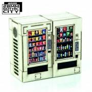 White Vending Machines