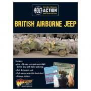 Bolt Action - British Airborne Jeep & Trailer