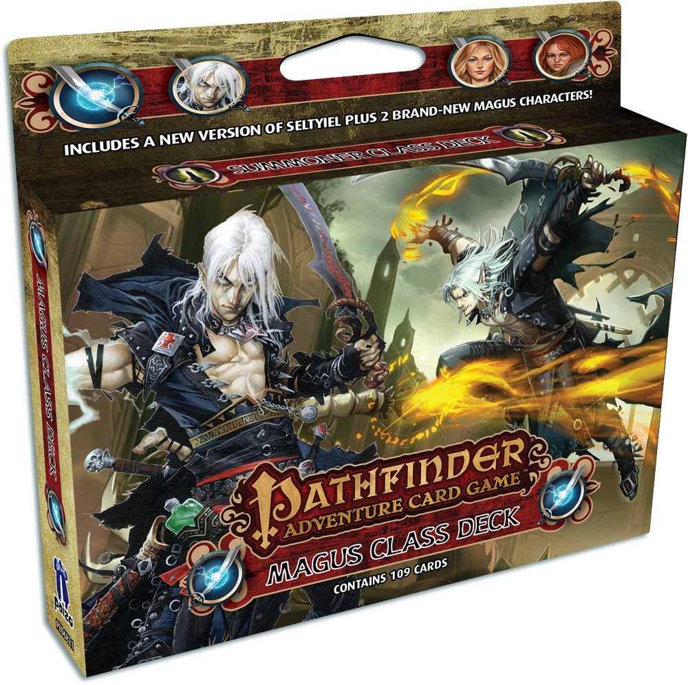 Buy Pathfinder Adventure Card Game - Magus Class Deck - Board Game - Paizo  Publishing