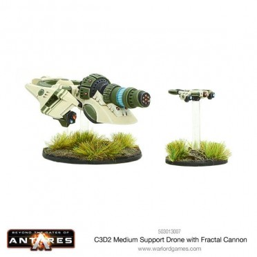 Antares - Concord C3D2 Medium Support Drone with Fractal Cannon