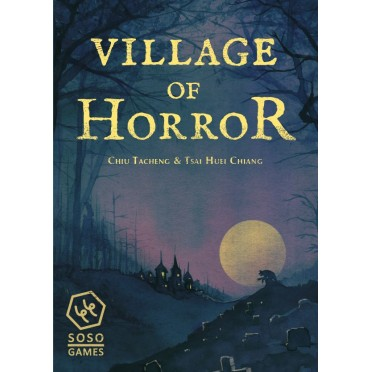 Once In Blue Moon What Was Hiding >> Buy Village Of Horror Board Game Soso Studio