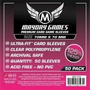 Card Game Sleeves - Small Square Premium 70x70mm - 50p