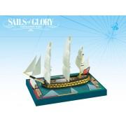 Sails of Glory - HMS Agamemnon 1781