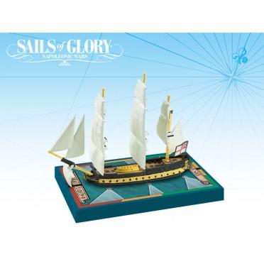 Sails of Glory - HMS Africa 1781