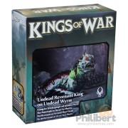 Kings of War - Roi Revenant sur Serpent Mort-Vivant