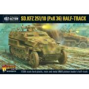Bolt Action - Sd.Kfz 251/10 Pak 36 Half-Track