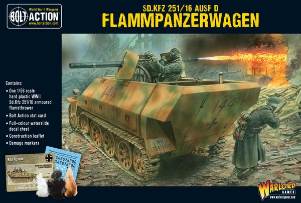 Buy Bolt Action - Sd Kfz 251/16 Ausf D Flammenpanzerwagen