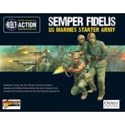 Bolt Action - Semper Fidelis - US Marines Starter Army