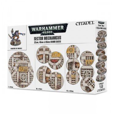 Citadel : Socles -Sector Mechanicus Industrial Bases