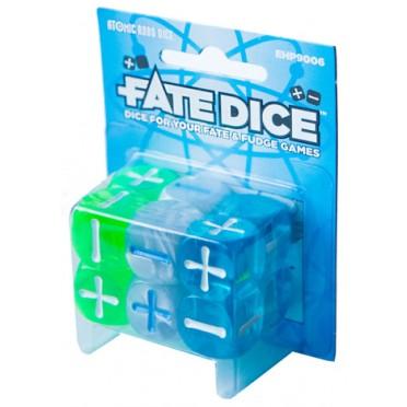 Fate Dice - Atomic Robo