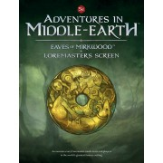 Boite de Adventures in Middle-Earth - Eaves of Mirkwood and Loremaster\'s Screen