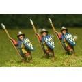 Light / Medium Spearmen with Large Shield & kettle helms 0