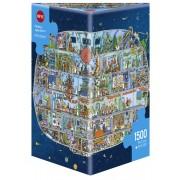 Puzzle - Spaceship de Mattias Adolfsson - 1500 Pièces