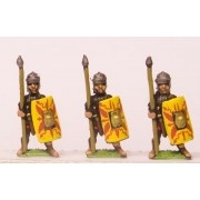 Early Imperial Roman: Assorted Auxiliary Light Heavy Infantry, LTS & shield
