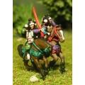Samurai: Mounted Samurai, firing/loading 0