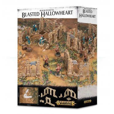Age of Sigmar : Décors - Realms Battle Blasted Hallowheart