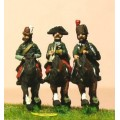 Seven Years War Prussian: Command: 2 Lancer Officers & Trumpeter 0