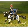 British Cavalry: Command: Hussar Officer, Standard Bearer & Bugler 0