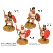 Roman Velites with spear/javelin & shield