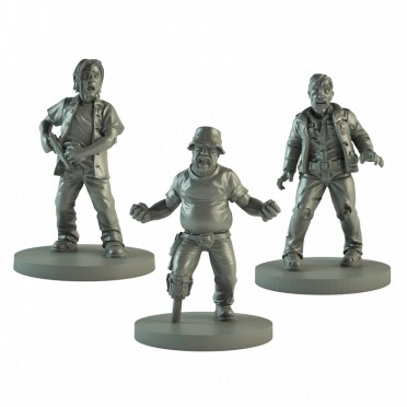 The Walking Dead : AOW - Booster Dale, Scott Moon & Rick Rôdeur