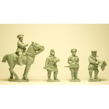 British Staff Officers