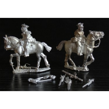 British Cavalry with Rifles