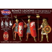 Rome's Legions of the Republic (I) in chainmail plus Velites and Command