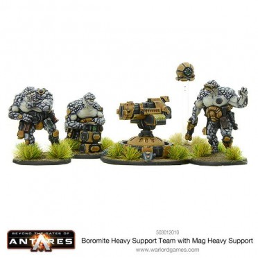 Beyond the Gates of Antares: Boromite Heavy Support team with X-Howitzer