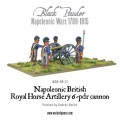 Napoleonic British Royal Horse Artillery 6-pdr cannon 0