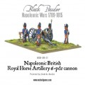Napoleonic British Royal Horse Artillery 6-pdr cannon 2