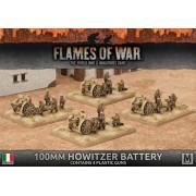 100mm Howitzer Battery