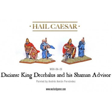 Hail Caesar - Dacians: King Decebalus and his Shaman Advisor