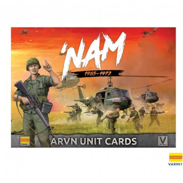 Nam - Unit Cards – ARVN Forces in Vietnam