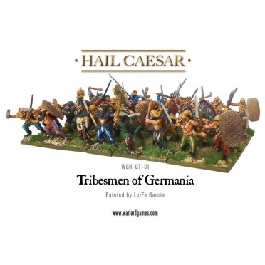 Hail Caesar - Tribesmen of Germania