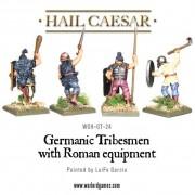 Hail Caesar - Germanic tribesmen with Roman equipment