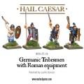 Hail Caesar - Germanic tribesmen with Roman equipment 1