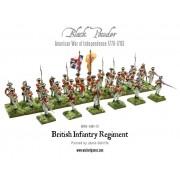American War of Independence: British Infantry Regiment