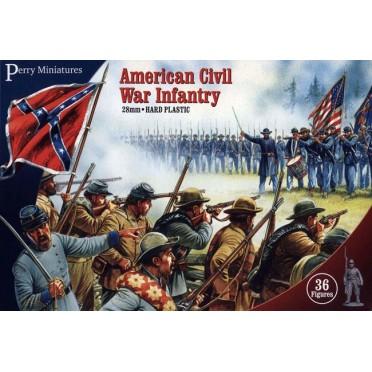 Infanterie Guerre de Sécession