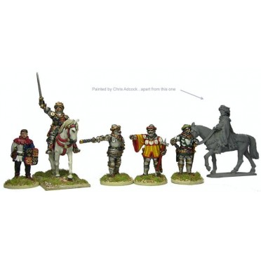 Henry V mounted, and command