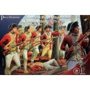 Infanterie Britannique Guerre d'Indépendance Américaine