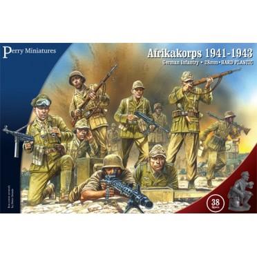 Afrikakorps. German Infantry 1941-43